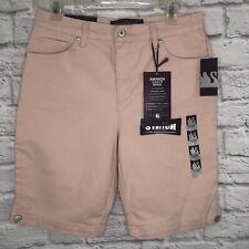 NWT Gloria Vanderbilt Size 10P Bermuda Shorts Stretch Bling Pockets Pink