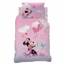 Oficial Disney Minnie Mouse Papillon menor juego funda Edredón infantil