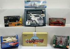 Lot of 7 models. Car, Truck, Firetruck, Us Indianapolis, plane models. Nib. Nr.