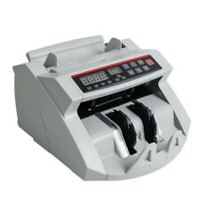Bill Money Counter Machine Currency Cash Count Counting Counterfeit Detector Ce
