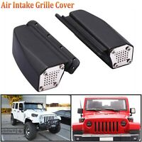 Lufteinlass Air Intake Grill Cover Für 1/10 Traxxas TRX4 Ford Jeep Wrangler KM2