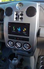 New! Double 2 Din Dash Radio Install Kit Frame Bezel w/ Premium Wiring Harness