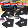 4 For Toyota Tacoma 05-20 Inner Fender Shield Panel Control Arm Dust Seals Liner