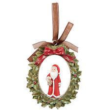 Christbaumschmuck Nikolaus Deko Christmas Weihnachten Landhaus Vintage 8cmx13cm