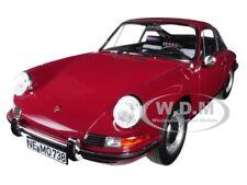 1969 PORSCHE 911 T DARK RED 1/18 DIECAST MODEL CAR BY NOREV 187630