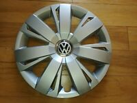 "#61563AM CUSTOM 16"" HUBCAP WHEELCOVER NEW (1) FITS JETTA 2011-16 BETTER THAN OEM"
