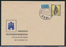 Briefmarken aus Berlin (1954-1955) mit Sonderstempel