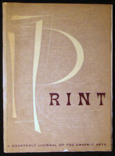 1949 Print Graphic Arts Emily Connor Marchbanks Press John T Arms Ray Nash +