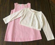 Gymboree baby girl 18-24mo Pink/&Cream Striped dress