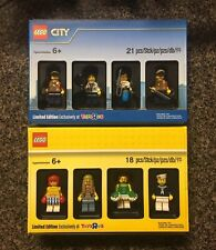 Lego Bricktober 2017 Limited Edition 5004940 5004941 City Minifigure Sealed Lot