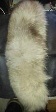 Siver fox fur headband collar