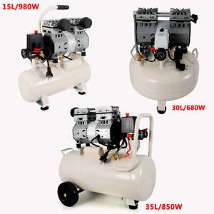 15/30/35L Flüster Kompressor Ölfrei Luftkompressor Druckluft Flüsterkompressor
