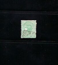 """1875 Stamp South Australia Scott 57 """"Queen Victoria"""" 6 Pence Used"""