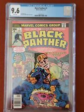 Black Panther #1 CGC 9.6 1977 -White Pages