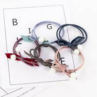 Fashion Girl Women Elastic Rubber Hair Ties Band Rope Ponytail Beach Hairbands