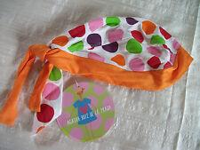 Orig. AGATHA RUIZ DE LA PRADA - süßes hochwertiges BABY-Kopftuch zum Binden NEU