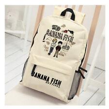 BANANA FISH Ash Lynx Shoulder Bag Black Backpack Oxford Cloth