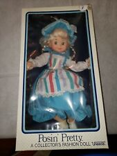 1970's Vintage Uneeda doll Posin' Pretty (Nrfb) in Original Box So Cute !