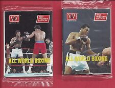 1991 All World Boxing Possible MUHAMMAD ALI CARDS  single Wax Pack