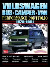 VANAGON PORTFOLIO BOOK WESTFALIA VOLKSWAGEN VW BUS VAN CAMPER T3 SYNCHRO
