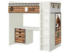 Pferdewelt Möbelsticker / Aufkleber für STUVA Hochbett Kombi von IKEA - SH13