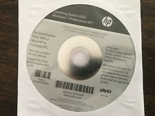 HP Windows 7 Professional 64 Bit Re-installation Repair DVD - Brand New
