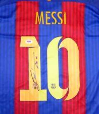 "LIONEL ""LEO"" MESSI AUTOGRAPHED SIGNED BARCELONA NIKE JERSEY FIFA 2015 PSA/DNA"