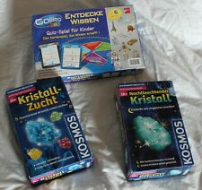 Kristallzucht # Kinder Experiment Set # Kristalle züchten und Entdecke Wissen