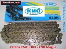 Catena Rinforzata KMC Passo 530 -120 Maglie per MOTO MORINI Sport 350 dal 1983