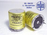 47uF-160V ITT Ultra Audio Grade! High Resolution Electrolytic caps x 50 pieces