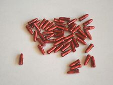 1 SET OF BULLET STYLE ALLOY FLIGHT PROTECTORS RED