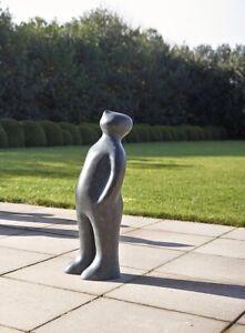 """Skulptur """"The Visitor Large - Bronze"""" von Guido Deleu"""