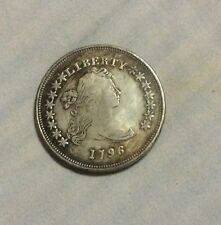 Silver Coin America Liberty  Coin 1796 38 Gram
