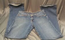 Lucky jeans dungarees Size 8/29 inseam 32 Mid rise slight flare Womans