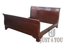 Henkel Harris King Size Mahogany Sleigh Bed