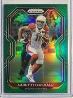 2020 Panini Prizm Green Larry Fitzgerald #263 Arizona Cardinals