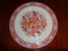 Ridgway Red And White Dinner Plate CANTERBURY