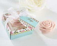 Tea Time Whimsy Pink Rose Soap Bridal Shower Wedding Favors