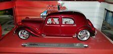 Auto Voiture Miniature Maisto CITROËN TRACTION 15 SIX (1952) Custom Tuning 1/18