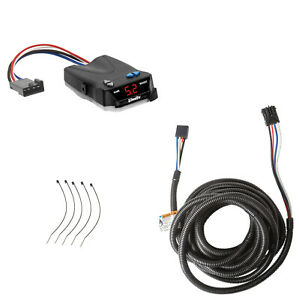 Trailer Brake Control for 07-20 BMW X5 w/ Factory 7-Way w/ Wiring Adapter Module