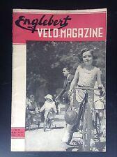 Revue Fascicule Englebert Velo magazine N° 19 1952