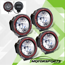 "4PCS Mount On 4"" 6000K Xenon HID Off Road Driving Lights Roof top/Grille/Bumper"
