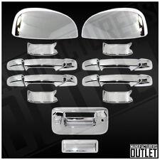 2007-2013 Chevy Silverado 1500/2500 4dr Door Mirror Tailgate Back Cam Cover Trim