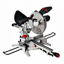 """D Pro Tools 250mm 10"""" POWERFUL 1800W Motor Sliding Compound Mitre Saw with Laser"""
