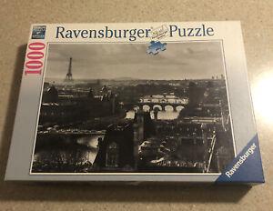 Ravensburger Puzzle 1000 Piece Paris Und Die Seine Black and White 193554