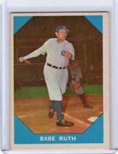 1960 Fleer Babe Ruth #3 NY Yankees (HOF)