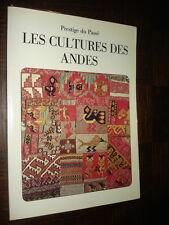 LA CULTURE DES ANDES - Christian Nugue 1987 - Pérou Incas...