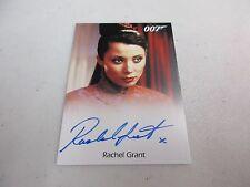 2017 James Bond Archives Final Edition Rachel Grant Die Another Day Autograph