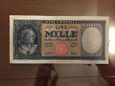 BANCONOTA LIRE 1000 ITALIA MEDUSA 15 9 1959 numismatica SABAUDA