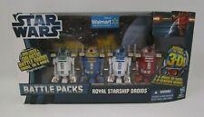 Royal Starship Droids Battle Packs STAR WARS The Clone Wars TCW MIB Walmart